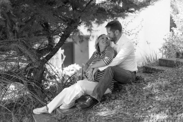 Photographe - séance lifestyle - famille- en attendant bébé - grossesse - drome - océane dussauge