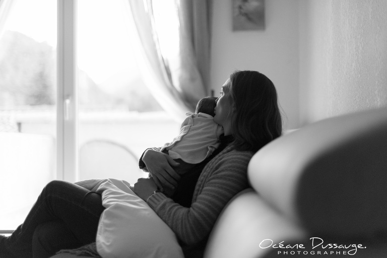 séance photo maman-bébé - Océane Dussauge - photographe famille - photographe enfants - photographe grossesse - photographe bébé - photographe lifestyle - Drôme - mercurol - valence - tain l'ermitage - romans sur isère