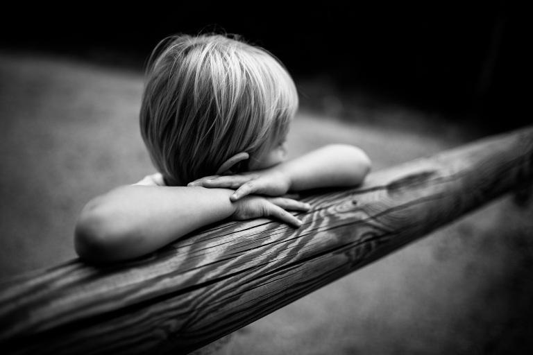 enfant timide