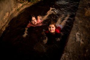 baignade dans le fallaj-oman
