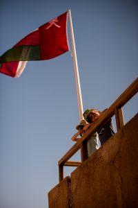 drapeau omanais