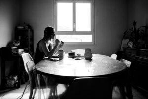 04-confinée seule - le petit déjeuner