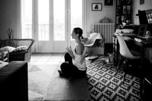 10 - confinée seule - méditer